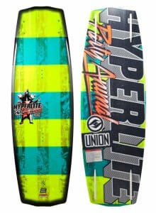 PLACA WAKEBOARD HYPERLITE 2015 FIBRA STICLA UNION