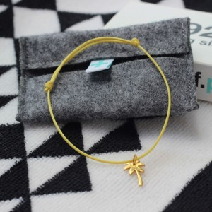 Silver+Surf Jewellery  S Palmtree gold plated