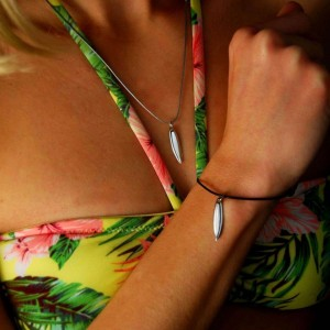 Silver+Surf Jewellery Surfboard S Pure