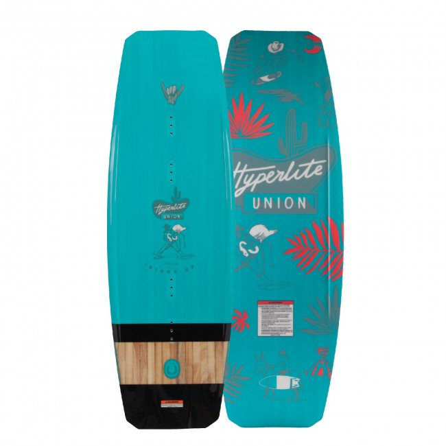 PLACA WAKEBOARD 2019 Hyperlite Union Matte 125 JR. Wakeboard