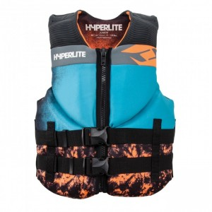 VESTA WAKEBOARD 2019 Hyperlite Boy's Junior Indy Neo Vest 35-55kg