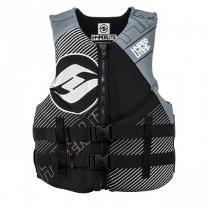 VESTA WAKEBOARD 2019 Hyperlite Men's Indy Neo Vest Grey