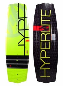 PLACA WAKEBOARD HYPERLITE 2015 FIBRA STICLA STATE 2.0 - BLACK