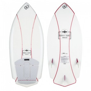 PLACA WAKESURF 2019 Ronix Potbelly Rocket Naked 4.3 Women's Wakesurfer