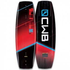 PLACA WAKEBOARD CWB 2016 REVERB RED
