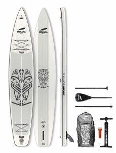 PLACA SUP Indiana 14'0Touring Pack Basic with 3-piece Fibre/Composite Paddle 1001BN
