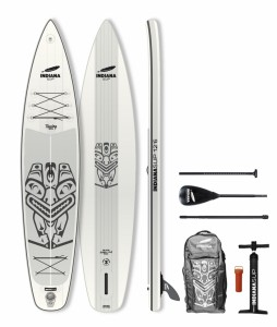 PLACA SUP Indiana 12'6 Touring Pack Basic with 3-piece Fibre/Composite 1002BNPaddle