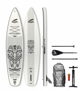 PLACA SUP Indiana 11'6 Touring Basic with 3-piece Fibre/Composite Paddle 1003BN