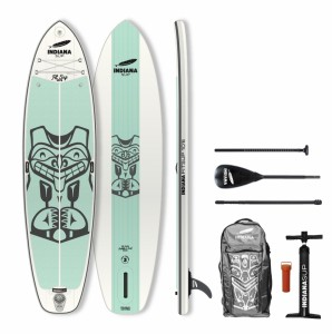 PLACA SUP Indiana 10'6 Fit Pack Basic with 3-piece Fibre/Composite Paddle 1022BN