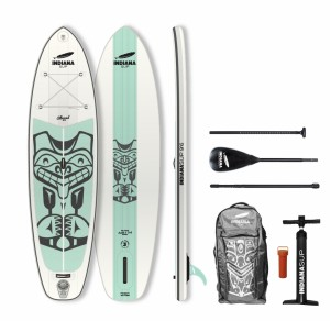 PLACA SUP Indiana 9'6 Allround LITE Pack Basic with 3-piece Fibre/Composite Paddle 1023BN
