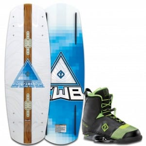 PACHET WAKEBOARD CWB 2016 VIBE 142 WAKEBOARD + FACTION BOOTS