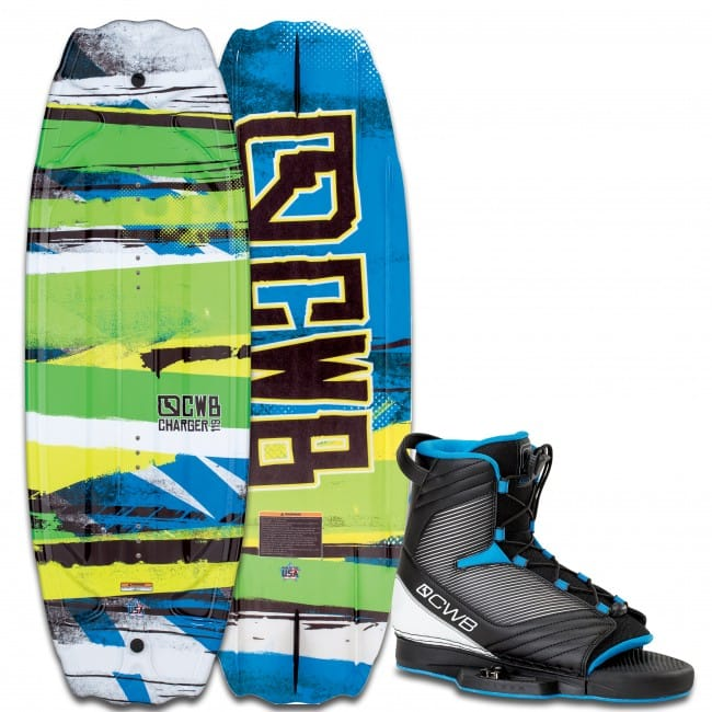 PACHET WAKEBOARD CWB 2016 CHARGER 119 WAKEBOARD + OPTIMA BOOTS