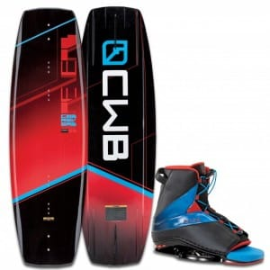 PACHET WAKEBOARD CWB 2016 REVERB 141 WAKEBOARD + EMPIRE BOOTS