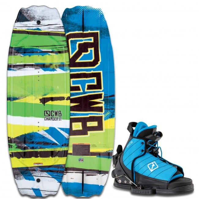 PACHET WAKEBOARD CWB 2016 CHARGER 119 WAKEBOARD + TYKE OSFA BOOTS
