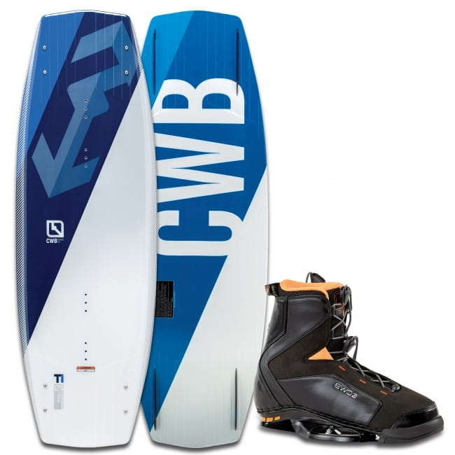 PACHET WAKEBOARD CWB 2016 TI 141 WAKEBOARD + JT BOOTS
