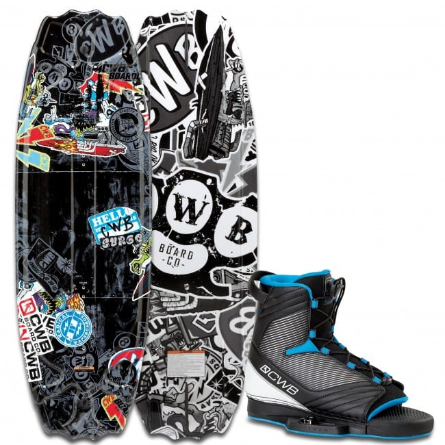 PACHET WAKEBOARD CWB 2016 SURGE PARK 125 WAKEBOARD + OPTIMA BOOTS
