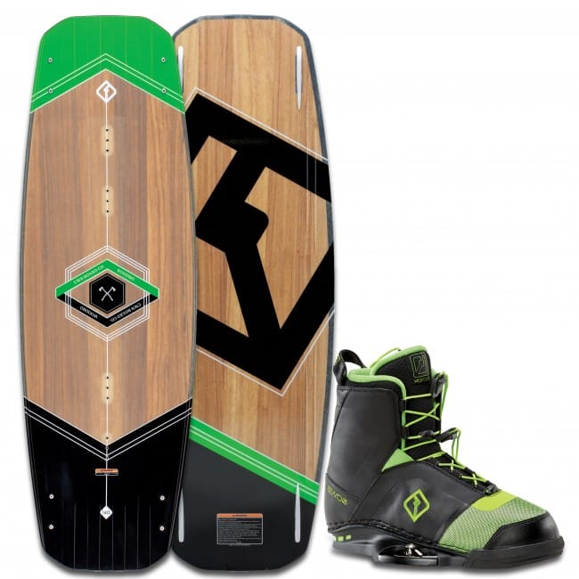 PACHET WAKEBOARD CWB 2016 WOODRO 140 WAKEBOARD + FACTION BOOTS