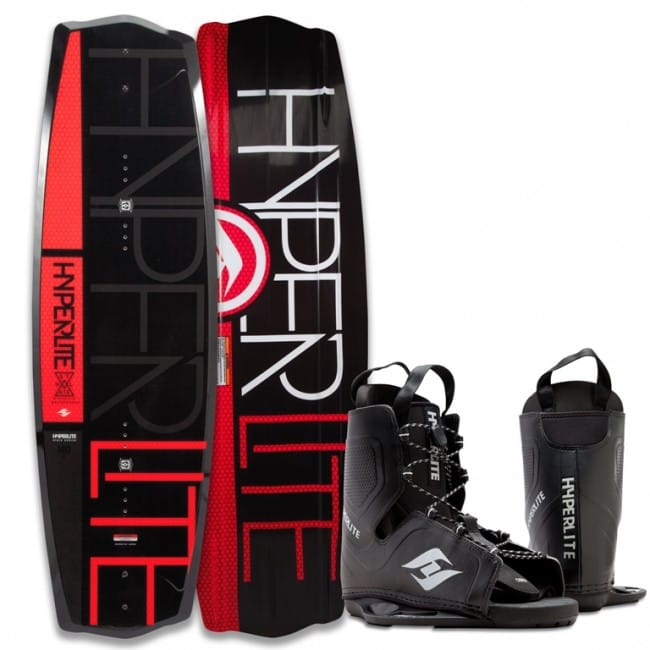 PACHET WAKEBOARD HYPERLITE 2016 STATE 2.0 130 WAKEBOARD + FREQUENCY OSFA BOOTS