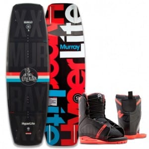 PACHET WAKEBOARD HYPERLITE 2016 MURRAY 120 WAKEBOARD + REMIX US K12/Y2 BOOTS