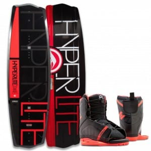 PACHET WAKEBOARD HYPERLITE 2016 STATE 2.0 125 JR WAKEBOARD + REMIX US K12/Y2 BOOTS