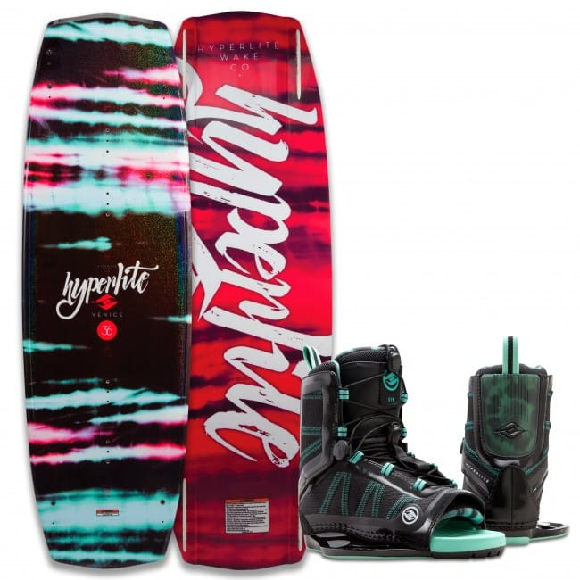 PACHET WAKEBOARD HYPERLITE 2016 VENICE 131 WAKEBOARD + SYN US 4-8.5 BOOTS