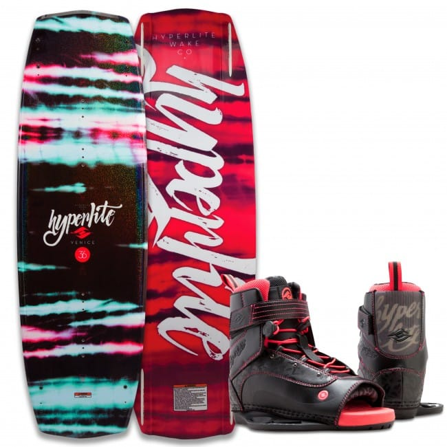 PACHET WAKEBOARD HYPERLITE 2016 VENICE 131 WAKEBOARD + BLUR US 4-8.5 BOOTS