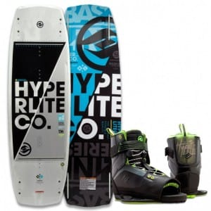 PACHET WAKEBOARD HYPERLITE 2016 BASELINE 141 WAKEBOARD + FOCUS US 10-14 BOOTS
