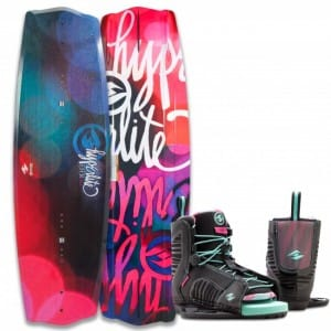 PACHET WAKEBOARD HYPERLITE 2016 EDEN 125 WAKEBOARD + REMIX GIRLS US K12/Y2 BOOTS