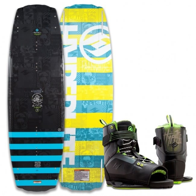 PACHET WAKEBOARD HYPERLITE 2016 FRANCHISE 138 WAKEBOARD + FOCUS BOOTS