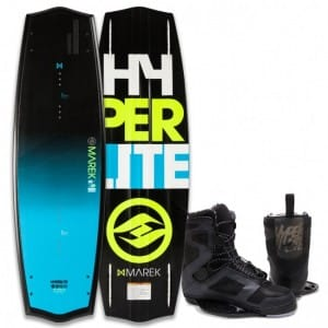 PACHET WAKEBOARD HYPERLITE 2016 MAREK BIO 135 WAKEBOARD + TEAM CT BLACK BOOTS
