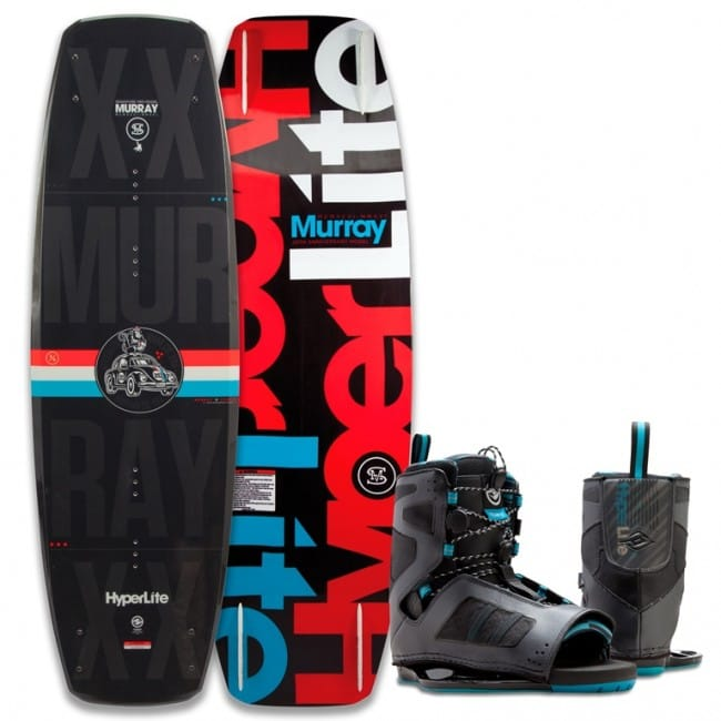 PACHET WAKEBOARD HYPERLITE 2016 MURRAY 139 WAKEBOARD + TEAM OT BOOTS