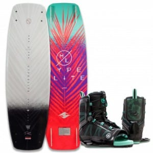 PACHET WAKEBOARD HYPERLITE 2016 PRIZM 134 WAKEBOARD + SYN BOOTS