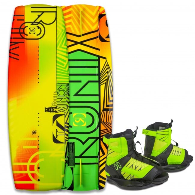 PACHET WAKEBOARD RONIX 2016 VISION 120 WAKEBOARD + VISION US 2-6 BOOTS