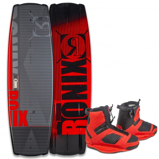 PACHET WAKEBOARD RONIX 2016 VAULT 134 WAKEBOARD + COCKTAIL BOOTS
