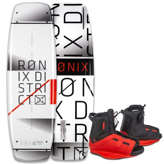 PACHET WAKEBOARD RONIX 2016 DISTRICT 138 WAKEBOARD + DISTRICT BOOTS