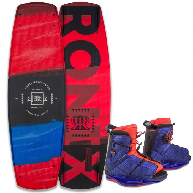 PACHET WAKEBOARD RONIX 2016 LIMELIGHT 136 WAKEBOARD + HALO BOOTS