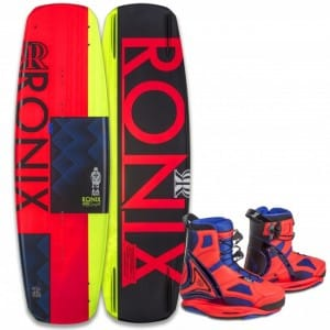 PACHET WAKEBOARD RONIX 2016 QUARTER 'TIL MIDNIGHT 130 WAKEBOARD + LIMELIGHT BOOTS