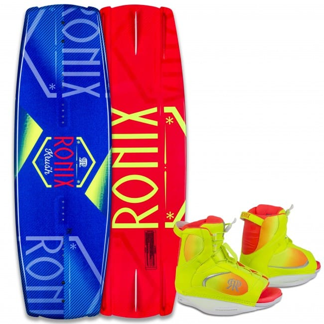 PACHET WAKEBOARD RONIX 2016 KRUSH 128 WAKEBOARD + LUXE BOOTS