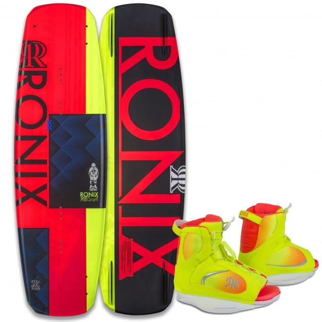 PACHET WAKEBOARD RONIX 2016 QUARTER 'TIL MIDNIGHT 135 WAKEBOARD + LUXE BOOTS