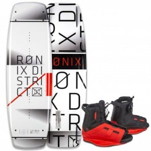 PACHET WAKEBOARD RONIX 2016 DISTRICT 134 WAKEBOARD + DISTRICT BOOTS