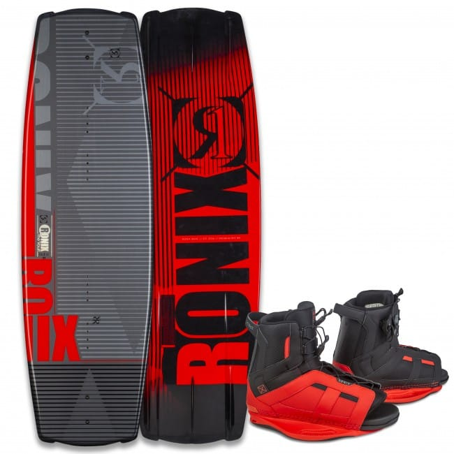 PACHET WAKEBOARD RONIX 2016 VAULT 134 WAKEBOARD + DISTRICT BOOTS