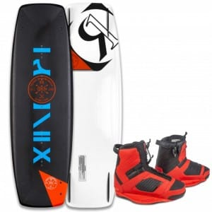 PACHET WAKEBOARD RONIX 2016 DISTRICT PARK 134 WAKEBOARD + COCKTAIL BOOTS