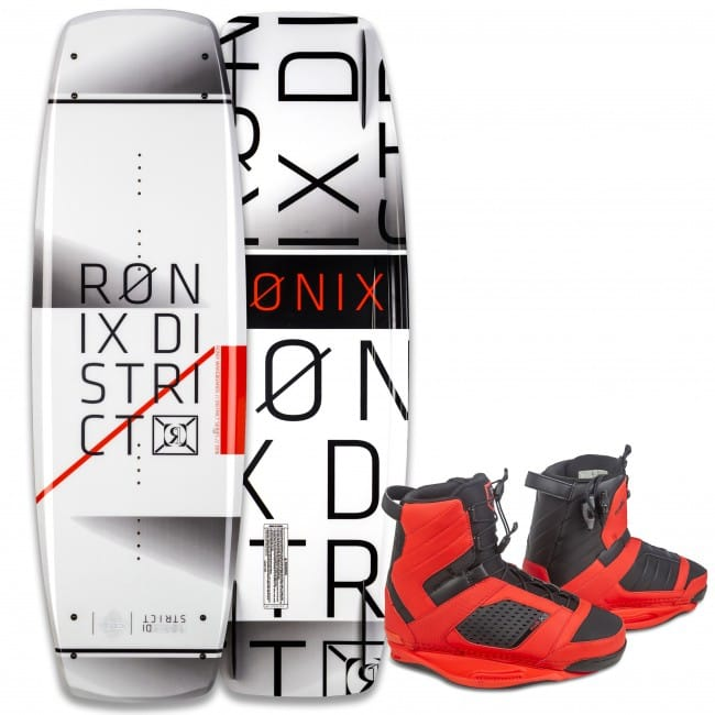 PACHET WAKEBOARD RONIX 2016 DISTRICT 143 WAKEBOARD + COCKTAIL BOOTS