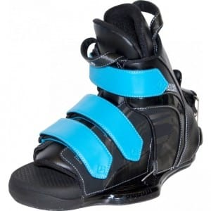 BOOTS WAKEBOARD CWB 2016 VAPOR RENTAL HINGE BINDINGS BLUE - SMALL/MEDIUM