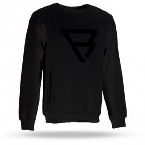HANORAC WAKEBOARD BRUNOTTI 2016 TRAINGLE CREWNECK MEN BLACK