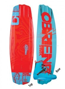 PACHET WAKEBOARD OBRIEN 2015 SPARK WAKEBOARD + SPARK BOOTS