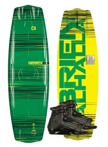 PACHET WAKEBOARD OBRIEN 2015 VALHALLA WAKEBOARD + ACCESS BOOTS
