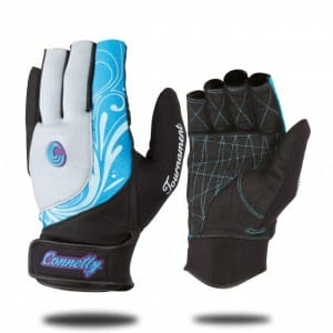 MANUSI WAKESURF CONNELLY 2016 WOMENS TOUR GLOVE - BLUE