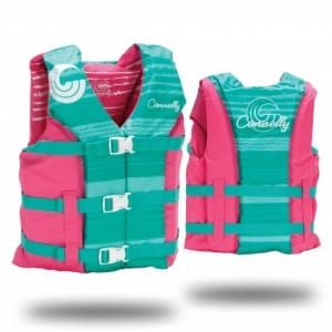 VESTA WAKEBOARD CONNELLY 2016 GIRLS YOUTH HINGE NYLON VEST