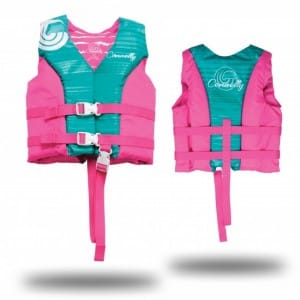 VESTA WAKEBOARD CONNELLY 2016 GIRLS CHILD HINGE NYLON VEST